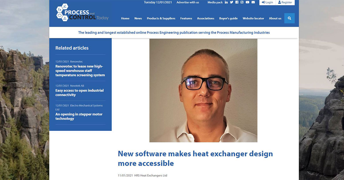 test Twitter Media - AHED is featured in @PandCT : New #software for the #design of shell & tube heat exchangers represents excellent value, making high powered tools more available to occasional users and professional #heatexchanger designers alike. @AHEDSoftware Read more: https://t.co/s5166TvXSg https://t.co/VHfadDVBEm