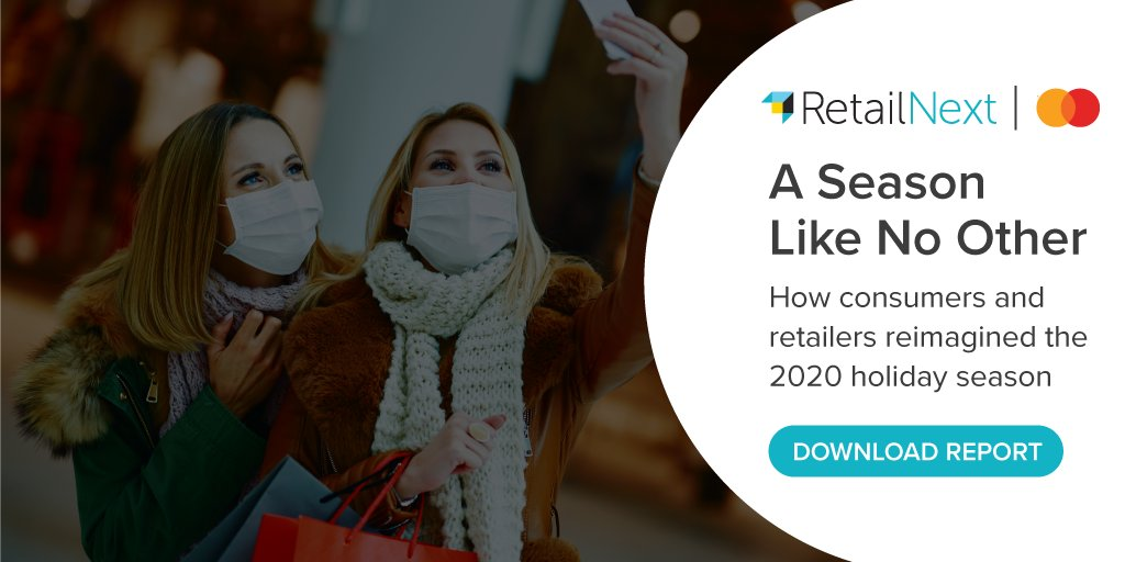 Holiday 2020 recap report draws on Mastercard #SpendingPulse and #RetailNext Performance Pulse insights. @Mastercard. #NRF2021 #Retailreport #retail #mastercard #hoilday2020   https://t.co/WKIfSAc2Jt https://t.co/w8eKN8O7oS