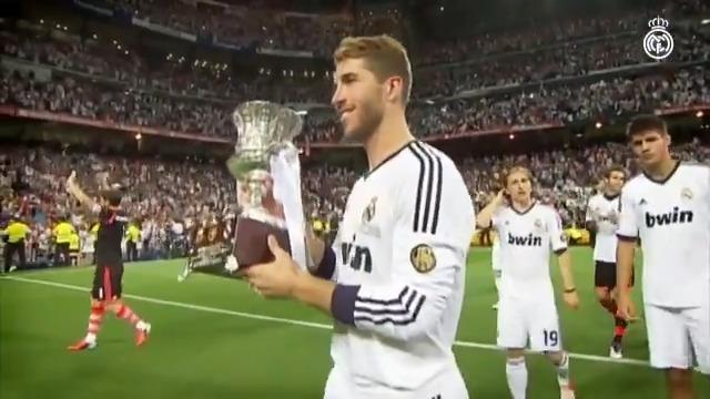 © @SergioRamos en la Supercopa de España: 🚩 14 partidos ➡ El madridista con más encuentros en la historia de la competición 🏆 4 títulos #RealMadrid | #RMSuperCopa