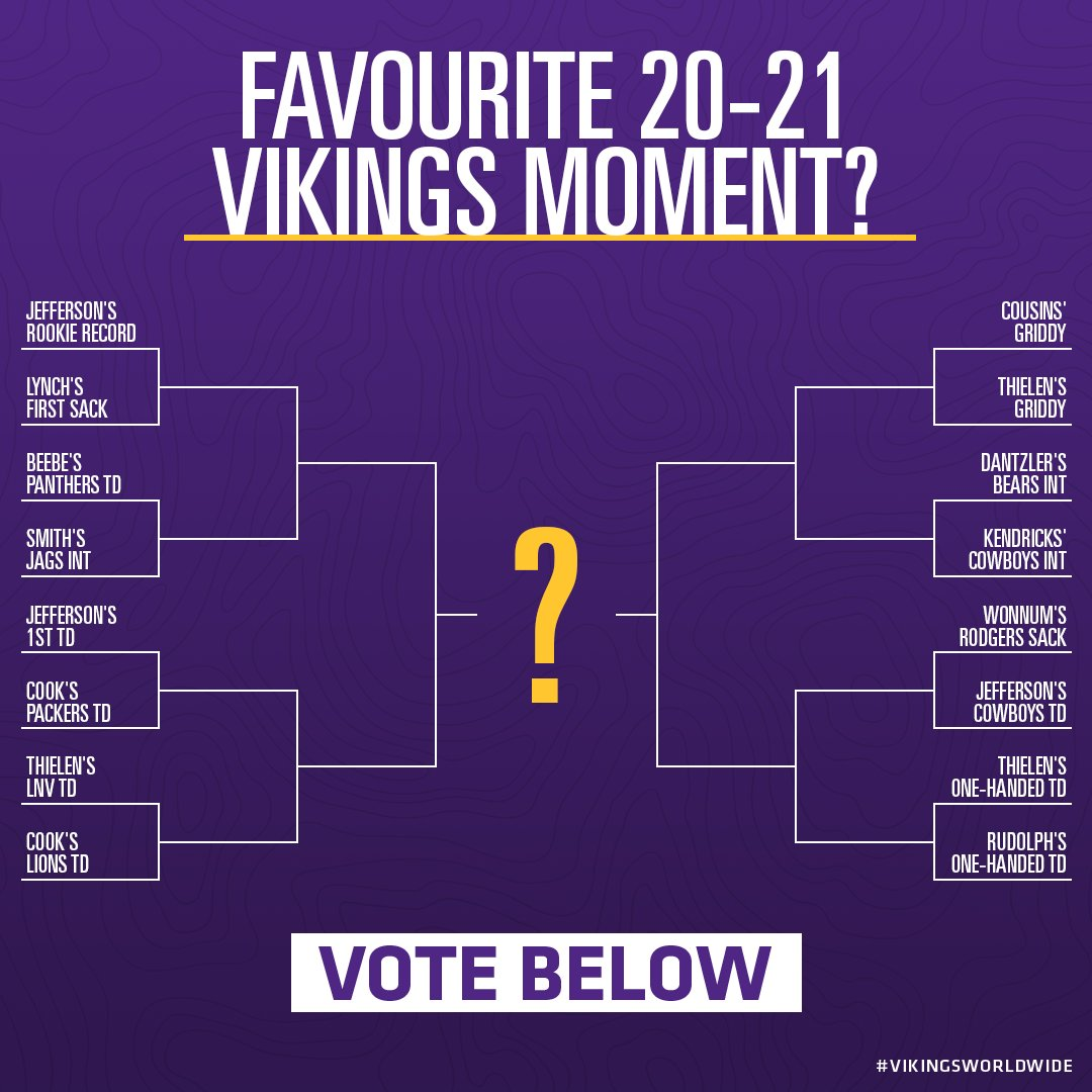 It's time to vote for your favourite UK Vikings moment of the season! 🏆  Don't forget to vote over the coming days for your favourite moments to decide the winner! 🎉