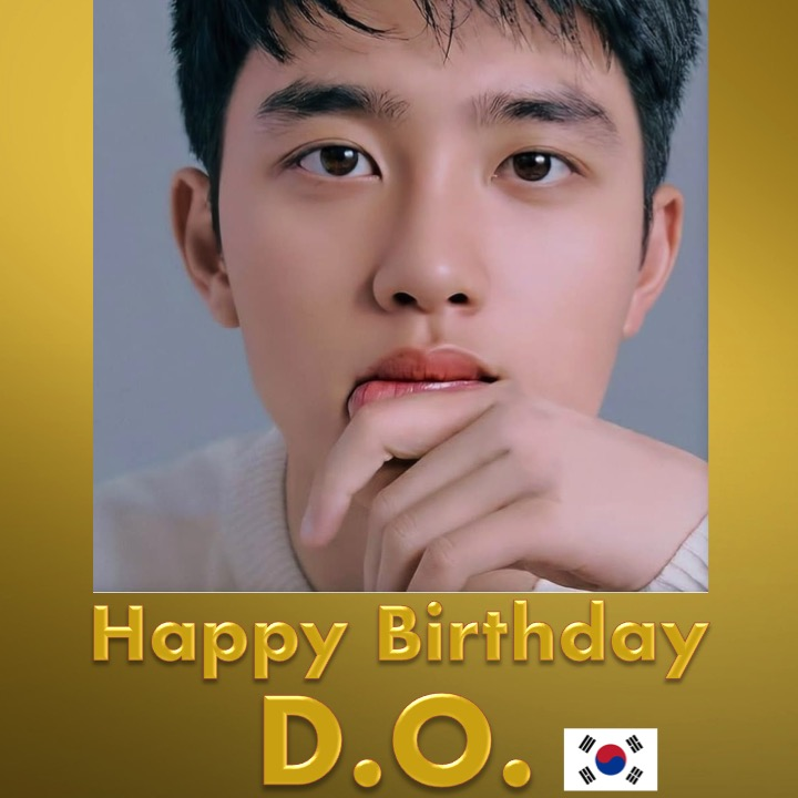 Happy Birthday to #EXOs handsome and very talented #DO! 👨‍🎤🎂🍾🎁🎉🎇 ☀️👑 #HappyDODay! @weareoneEXO facebook.com/worldmusicawar…