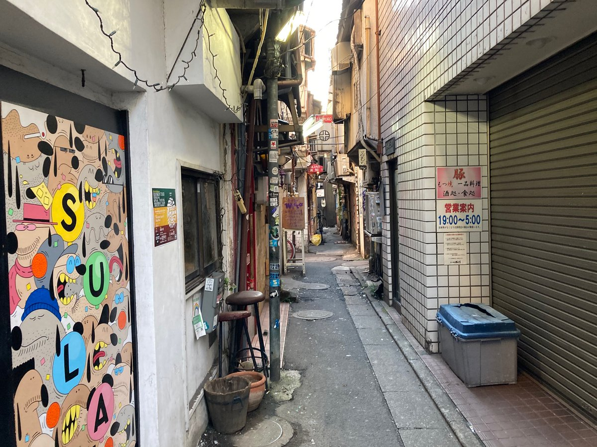 Another wonderful back alley in Sangenjaya. I absolutely love this area!😀 #streetphotography #Tokyo