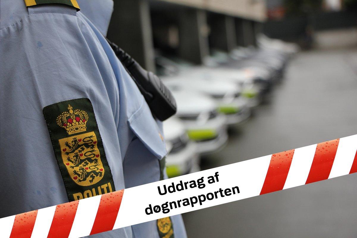 Covid-19: Kiosk sigtet for at holde spillehal åben i Roskilde - Fire bilister kørte til frakendelse på Køge Bugt Motorvejen - Forsøg på bedrageri ved mistænkelige opkald i Lejre. Læs mere i dagens uddrag af døgnrrapporten mandag til tirsdag. #politidk https://t.co/JkvFE0LC3V https://t.co/D7r79KXcXU