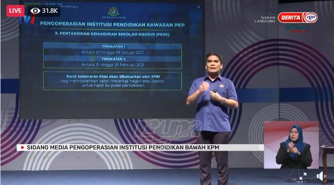 Penerangan Johor On Twitter Sidang Media Khas Menteri Kanan Pendidikan Https T Co Syx8jjin8u Jabatanpenerangan Peneranganjohor