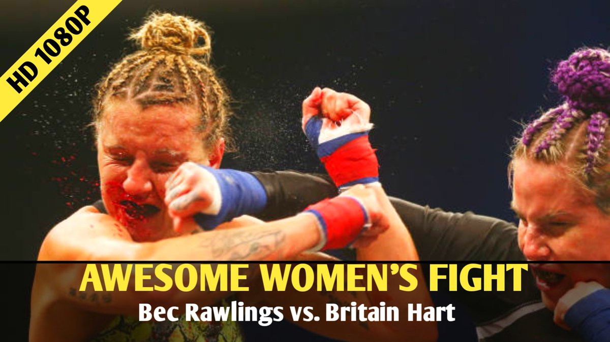 Bec Rawlings vs. Britain Hart Awesome Women's Fight! LINK:  #BecRawlings #BritainHart #women #Fight #UFC256 #MMA #knockout
