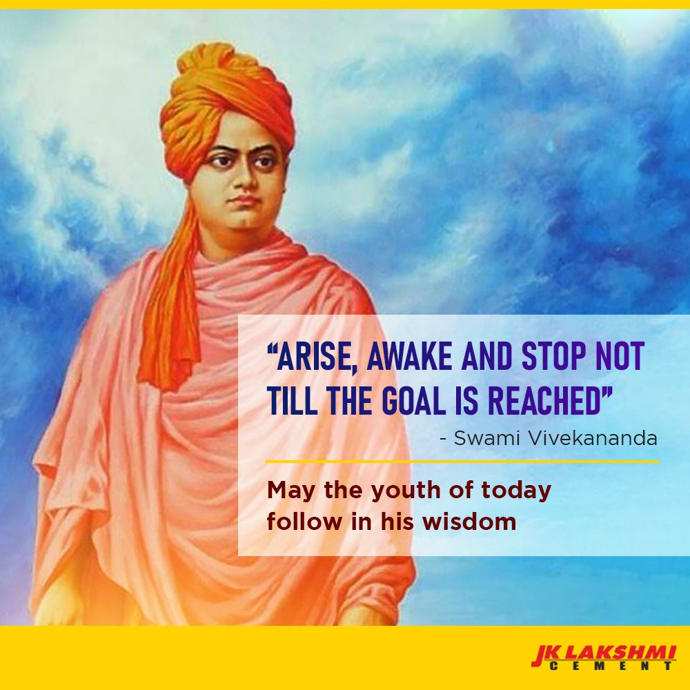 On National Youth Day, let's reflect on the ideals of one of the greatest visionaries of his time.  #SwamiVivekananda #NationalYouthDay