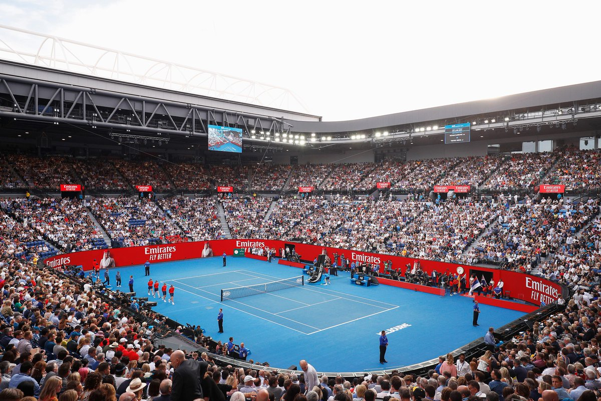 Who's excited for another season of tennis? The @AustralianOpen gets underway in less than one month and we'll be there supporting once again!  #EmiratesFlyBetterMoments #AusOpen