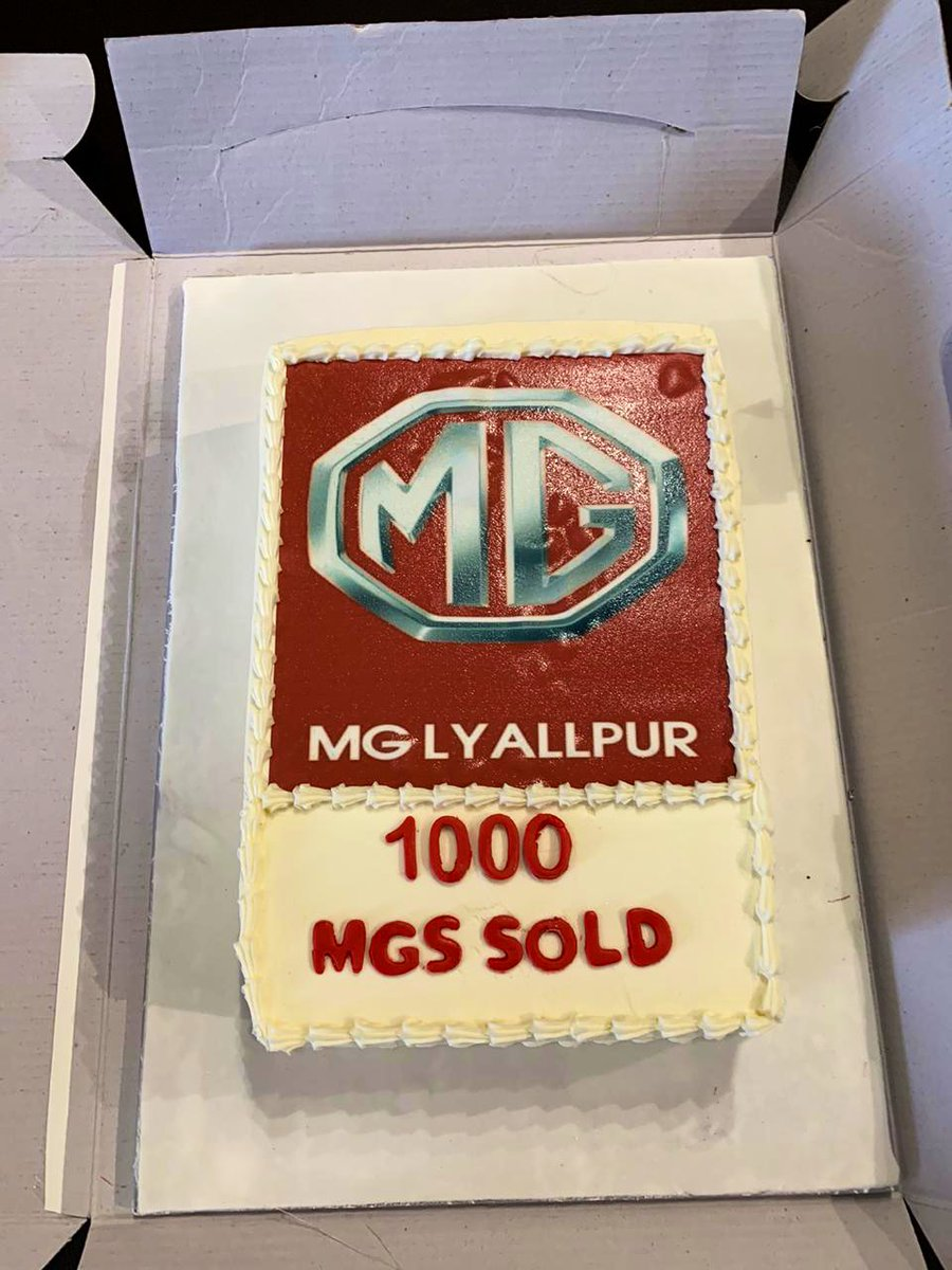 Congratulations MG LAYALLPUR, for Achieving the Thousand Digit in Faisalabad. @MGPakistan