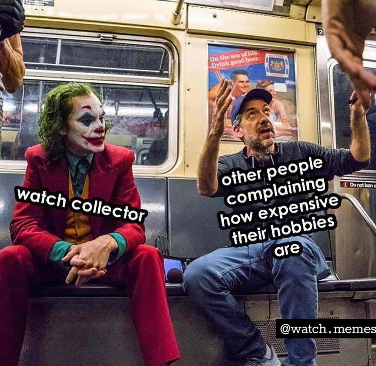 Damn that's true 🤣🤣🤣  #watchcollector #hobby #wristwatch #wristgame #rolex