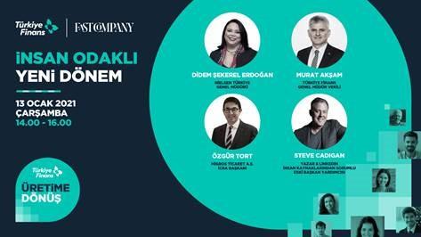 """.@TurkiyeFinans Katılım Bankası'nın 13 Ocak Çarşamba günü saat 14.00'te düzenleyeceği """"İnsan Odaklı Yeni Dönem"""" buluşmasında, insana yatırım yapan lider şirketlerin CEO'ları bir araya gelecek. Oturumu sakın kaçırmayın! Kayıt için tıklayın 👉https://t.co/MxecbYc6nN https://t.co/eiaU58JxQC"""
