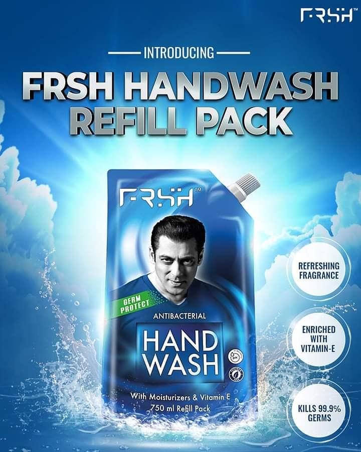 """☆-""""#Kyu Ki Haath Dhona Hai Bohot Zaruri...Pesh Hai FRSH Handwash Ka Refill Pack! Stock Up Today-"""":- ::-:: #RahoFRSHRahoSafe #StayHome #StaySafe #Handwash"""