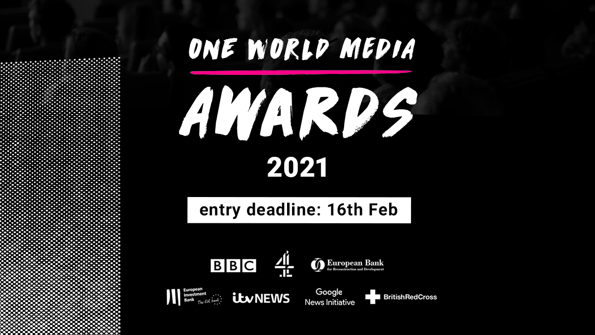 ⭐The #OWMAwards2021🏆 are officially open for entries!⭐  Open to #journalists & #filmmakers globally, the awards celebrate the year's best media coverage of underreported stories from around the world.  🗓️Deadline for entries: 16 Feb 2021 Enter now: