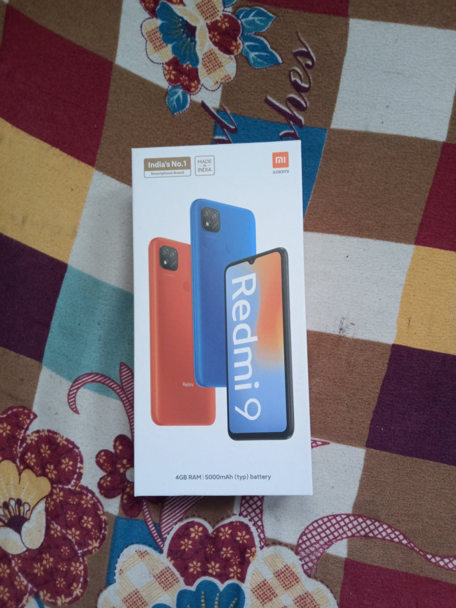 Thank you so much @amazonIN  for selecting me as a winner of the #AmazonGiftingHappinessDays  contest & for sending me this awesome Redmi 9 #AmazonGreatIndianFestival
