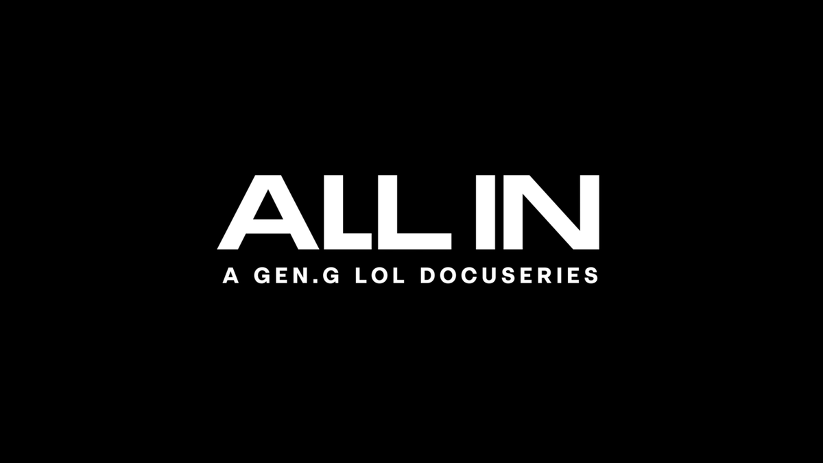 Gen.G - This year, it's time to go ALL IN.  Coming soon.  #ChangeTheGame #GenGLoL #TigerNation