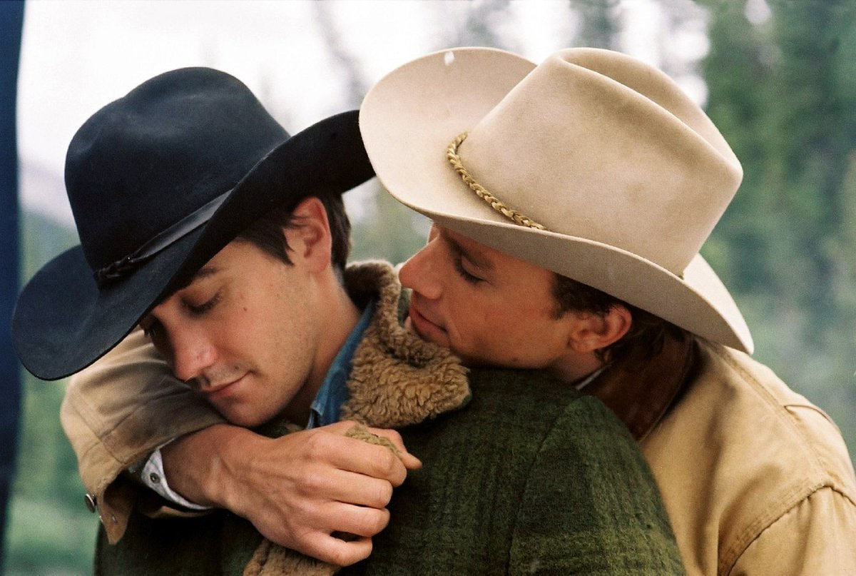 "Heath Ledger's ""Brokeback Mountain"" (2005) in @TeenVogue's The 25 Best Movies About LGBTQ People That You Need to Watch.   #HeathLedger #BrokebackMountain #JakeGyllenhaal #AngLee #EnnisDelMar #JackTwist #Hedwig #Carol #CallMeByYourName #GayCinema #LGBTQ"