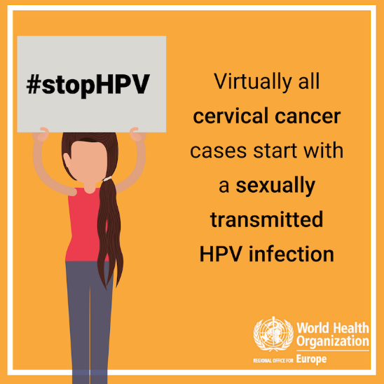 It's #CervicalCancer awareness month!  #HPV vaccine is highly effective. It can prevent 9⃣ in 🔟 cases of HPV – the #1 cause of cervical cancer.  Yes, #VaccinesWork!