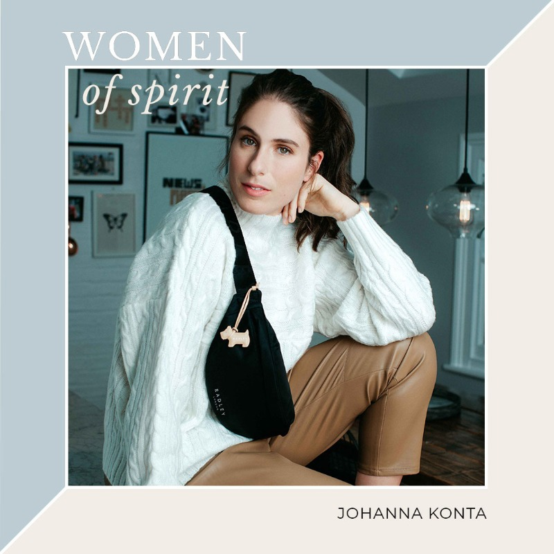 Introducing our NEW Women of Spirit series. Throughout 2021, we're celebrating the women who are working to make a real difference in the world. This month, we're welcoming British tennis star @JohannaKonta (and her new athleisure collection).
