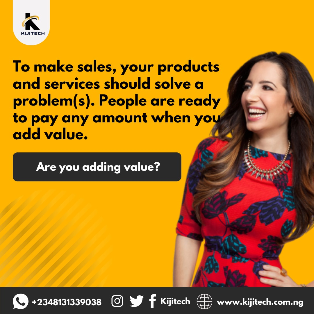 Providing value makes sales!!! #tuesdaymotivations #tuesdayvibe #selling #marketing #startups #branding #asuustrike  #SMAN #stingymenassociation #COVID19 #EndSARS #technology #kijitech