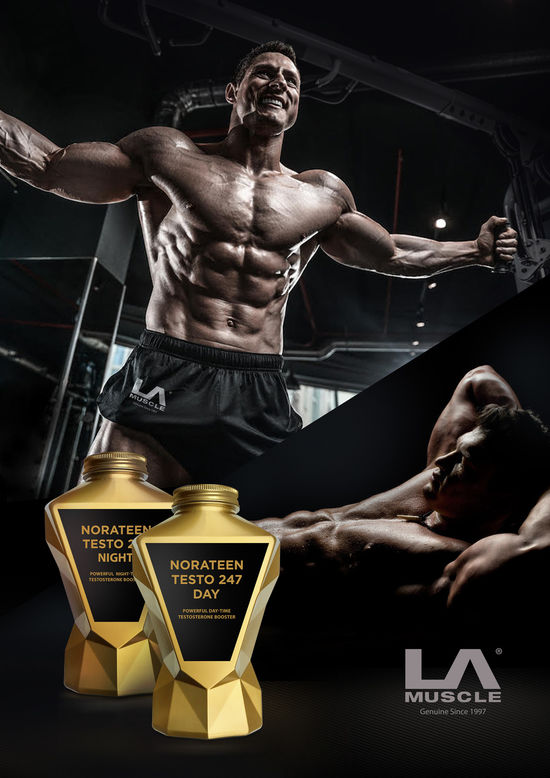 "The most powerful Norateen Duo Norateen Testo 247 Day & Night ready to ""upgrade"" your body:  #lamuscle #testo #fertility #menshealth #hormones #testosterone #leanmuscle #nutrition #food #fitness #training #lean #health #muscle #fit #diet #TuesdayMotivation"