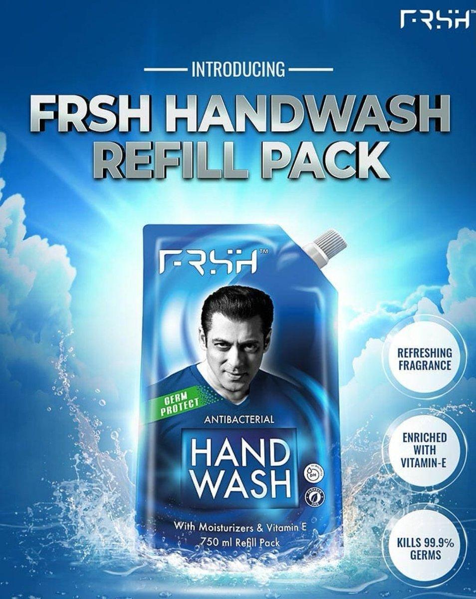 Kyuki haath dhoona bhut zarrori... Pesh hai frsh handwash ka refill pack !!Stock up today #RahoFRSHRahoSafe #StayHome #StaySafe #HandWash #Link=