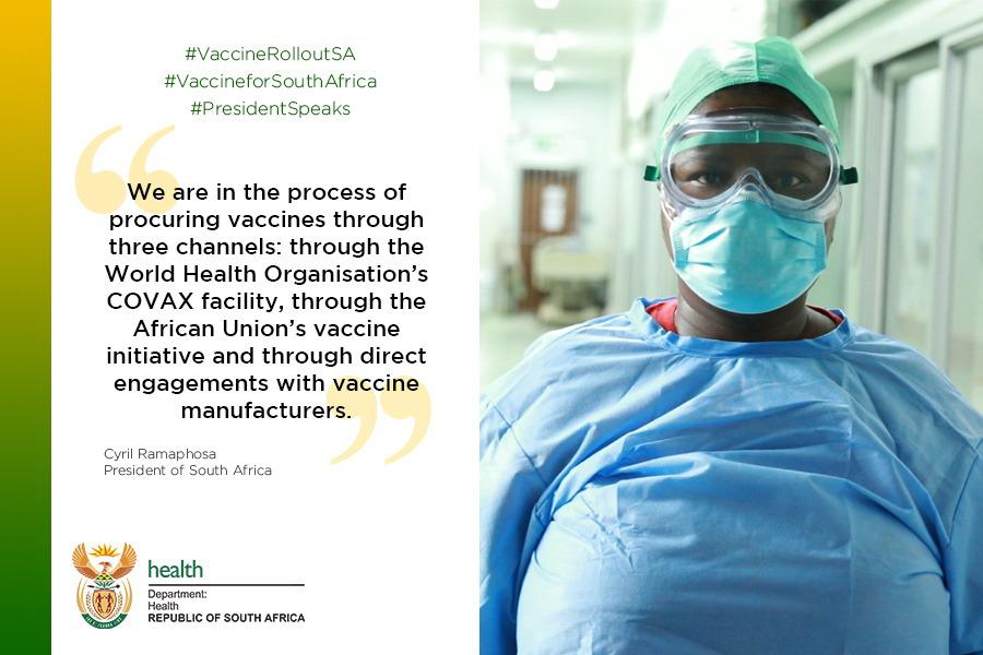 Where will SA get its Covid-19 vaccines from? President Cyril Ramaphosa explained our procurement process in last night's address to the nation. https://t.co/gfLDYoDrwf