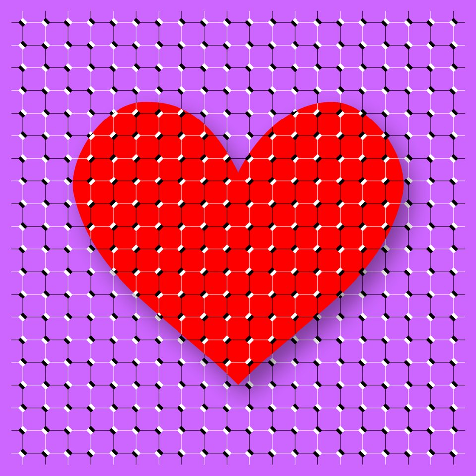 Replying to @AkiyoshiKitaoka: The heart appears to move.
