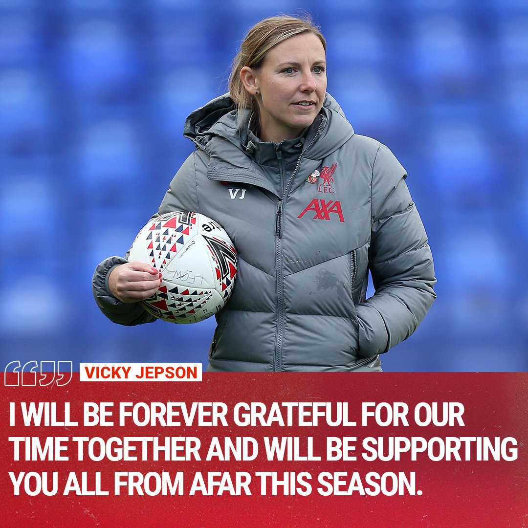Replying to @LiverpoolFCW: Thank you for everything, Vicky ❤️