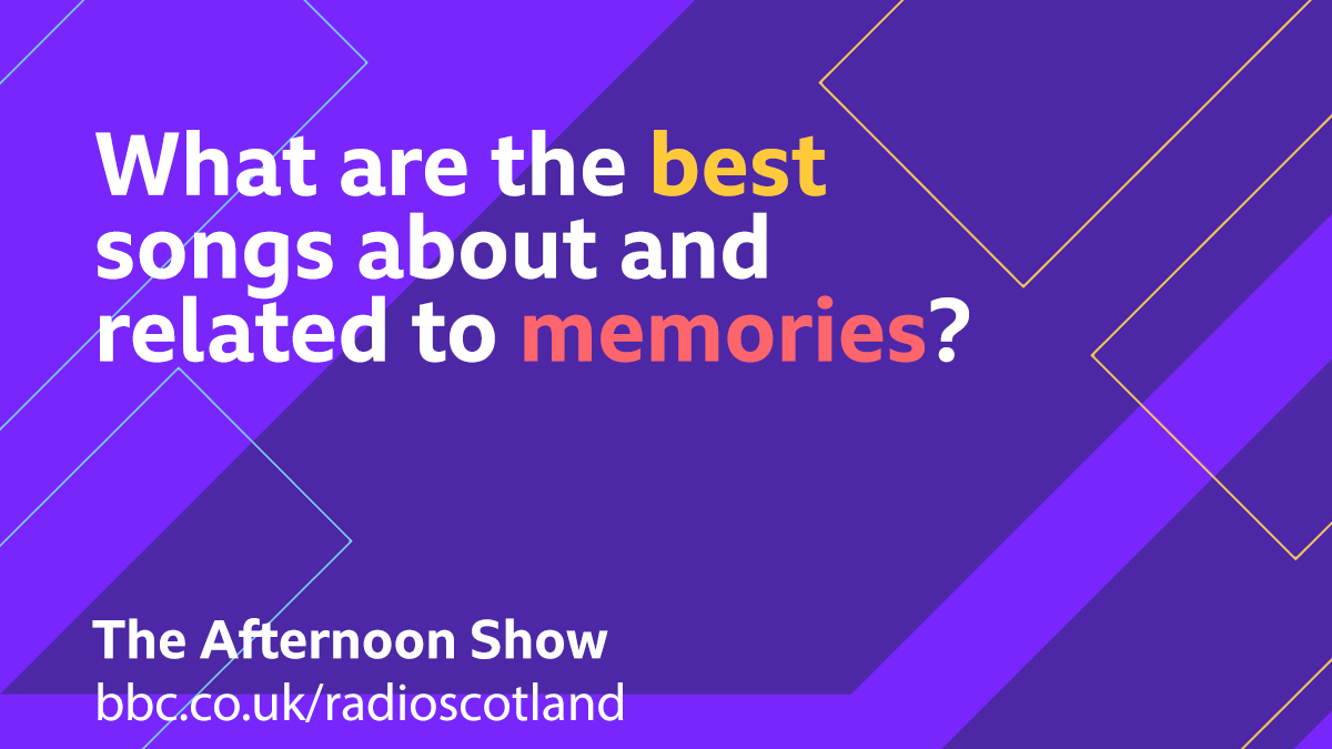 This afternoon we're talking about the artist George Wyllie and a new Mapping Memories Project to mark his centenary year  So for your Topical Tune we are looking for your songs about and related to memories  #TheAfternoonShow with @JaniceForsyth