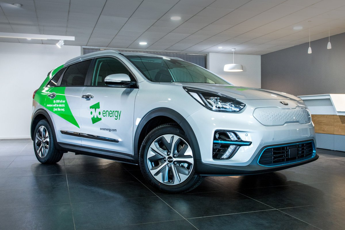 Kia have been chosen by @OVOEnergy to supply 40 of its Field Force team with the all-electric Kia e-Niro, capable of 282 miles on a single charge. OVO Energy are closely aligned with Kia and their green targets, making the e-Niro a flawless choice! 🌍 https://t.co/ASbKY9HOO6