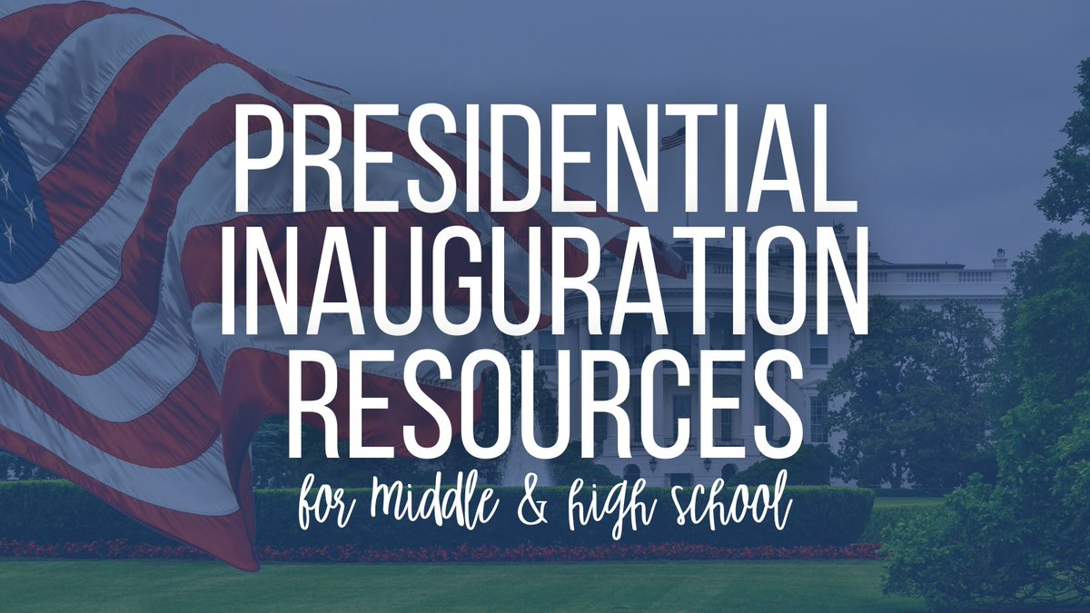 Are you looking for Inauguration resources? Check out my @wakelet of carefully curated unbiased resources including current articles, primary sources, and images of past events. wke.lt/w/s/mP227N #galibchat #fcsmeti #futurereadylibs