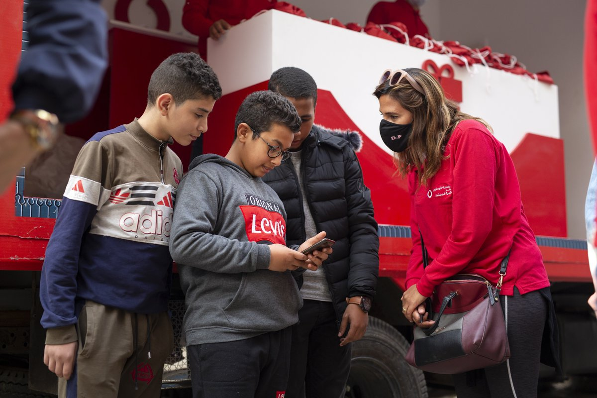 It's #BackToSchool🎓 for our team at #VodafoneEgyptFoundation who are busy working with Al Adwaa to help Egyptian students access remote learning on their Ta3limy platform.   Students can access interactive videos, exams, subject summaries and much more👨🏫 #everyoneconnected