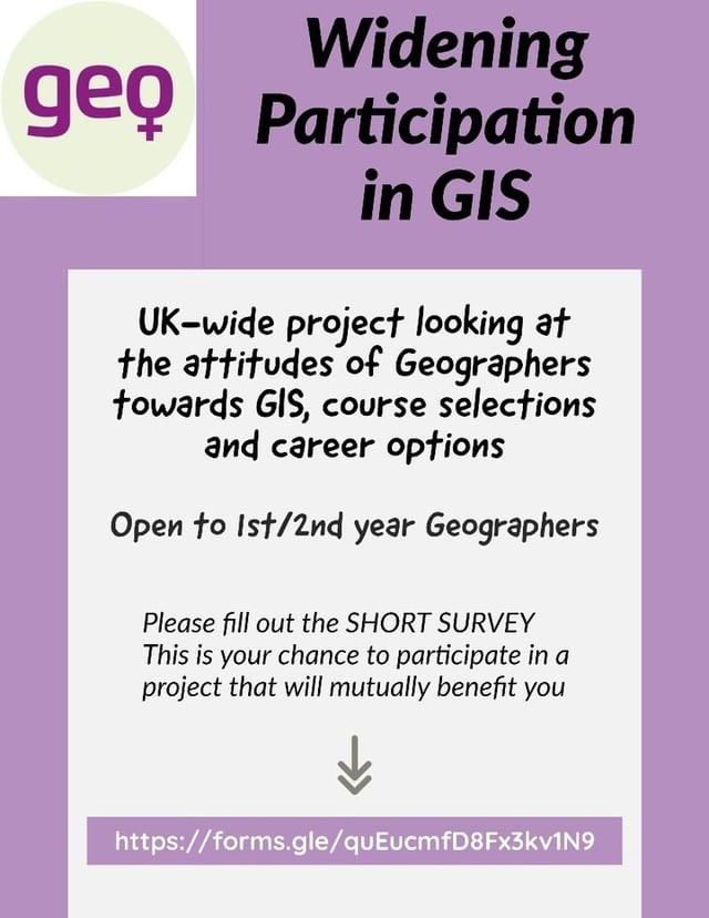 CALLING ALL 1ST & 2ND YEAR GEOGRAPHERS 🚨🚨