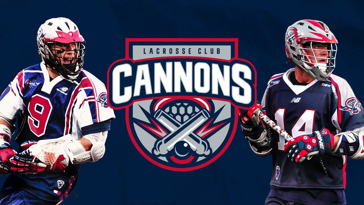 We are Cannons Lacrosse Club 💥💣
