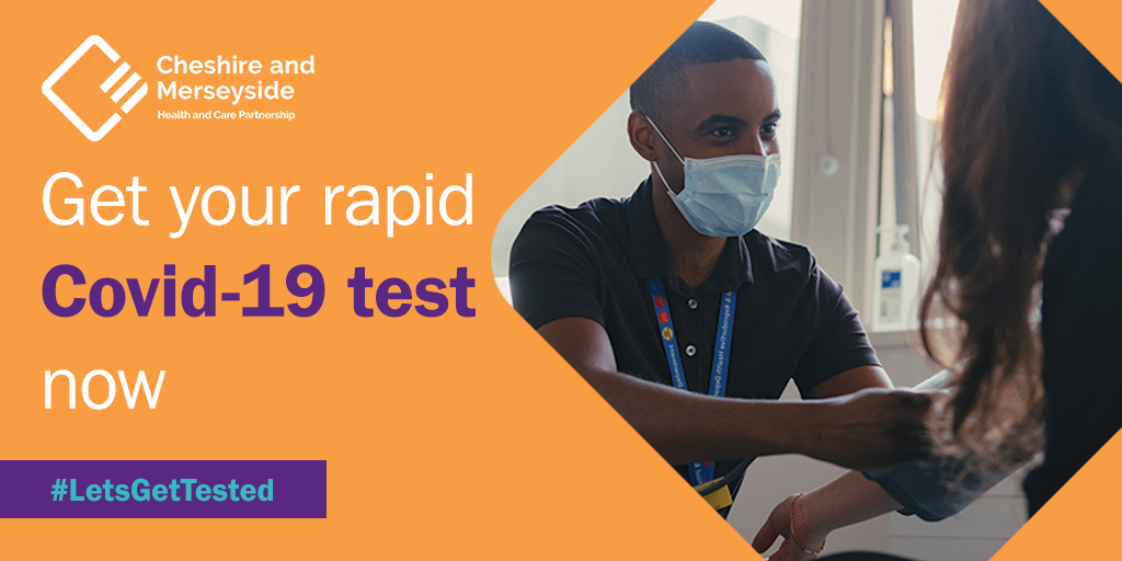 During this lockdown, we're urging anyone who must risk leaving their home & mixing with others, such as NHS & care workers, school staff & supermarket employees to keep getting repeated tests for #Covid19 within the Liverpool City Region  #LetsGetTested