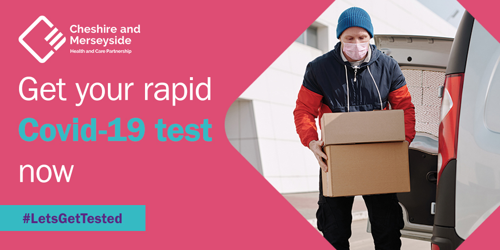 Delivery drivers, factory workers, transport workers & others who must risk leaving their homes & mixing with others during this lockdown are being urged to keep getting repeated tests for #Covid19 within the Liverpool City Region  #LetsGetTested