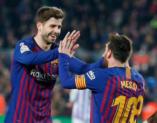 """Le nouveau stade du Fc Barcelone devra porter le nom de Lionel Messi"" Gerard Piqué #messi #Messi10 #piqué #barcelona #Barça #Barcelone #FCBarcelona #FCB #realmadrid #CR7 #CristianoRonaldo #citation #citationfootball"