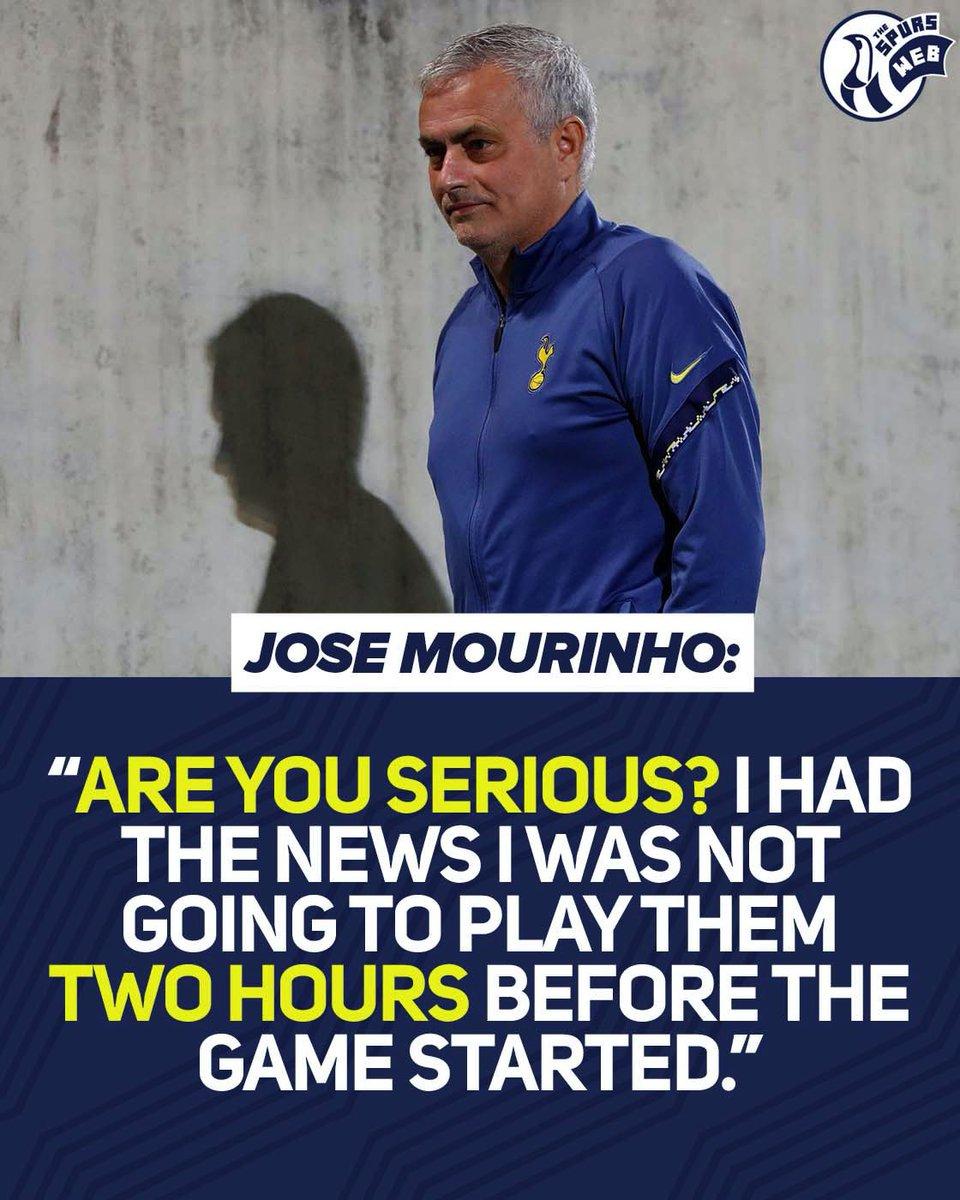 Жозе Моуриньо коментира Тотнъм - Фулъм
