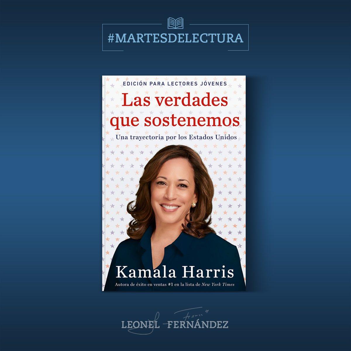 #MartesDeLectura: Versión resumida y simplificada para jóvenes lectores, de las memorias de la primera mujer vicepresidenta electa de los Estados Unidos, Kamala Harris. https://t.co/jaf87L1PCh