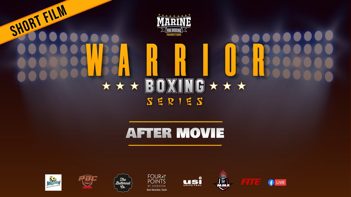 WARRIOR BOXING SERIES official After Movie by Marine Pro Boxing Promotions  https://t.co/4JqpRRj3QM  #boxing #sports #MMA2020 #FitnessMotivation #BoxingGloves #india #marineproboxing https://t.co/IwREd4rYCC