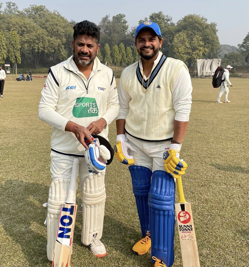 Chak de fatte, napp de gilli, subah Gurgaon shaam nu Dilli! That's how you spend your day as a journalist, @vikrantgupta73 🎂☝️!giving cricket fans reasons to smile ! Happy birthday paaaaaaajjjiiiii
