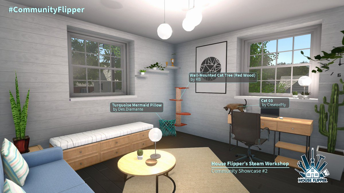 House Flipper On Twitter Y All Loved Workshop S Community Showcase So We Decided It S Going To Be A Regular Thing Now Its Official Hashtag Is Communityflipper Feel Free To Share Your