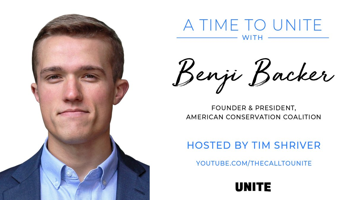 WATCH: President @benjibacker joins @TheCallToUnite to discuss political polarization, market-based environmental action, and coming together on common ground.
