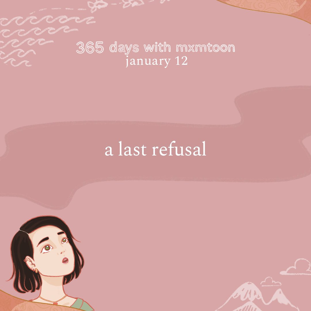 january 12: a last refusal   @mxmtoon @vampireweekend