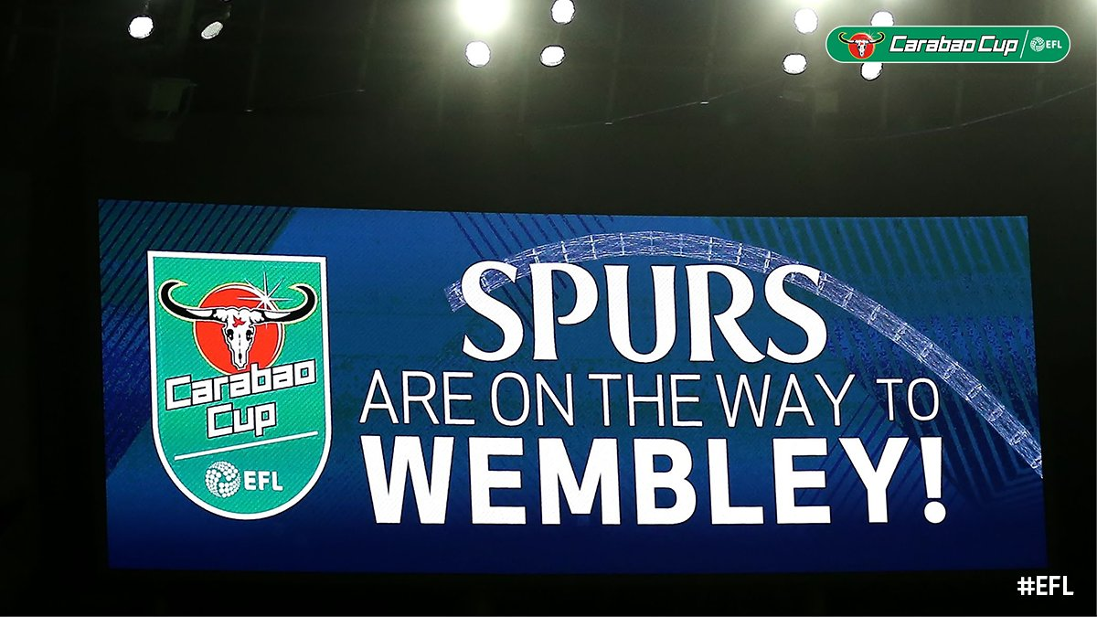 A little reminder for all the @SpursOfficial fans out there!  #EFL | #CarabaoCup