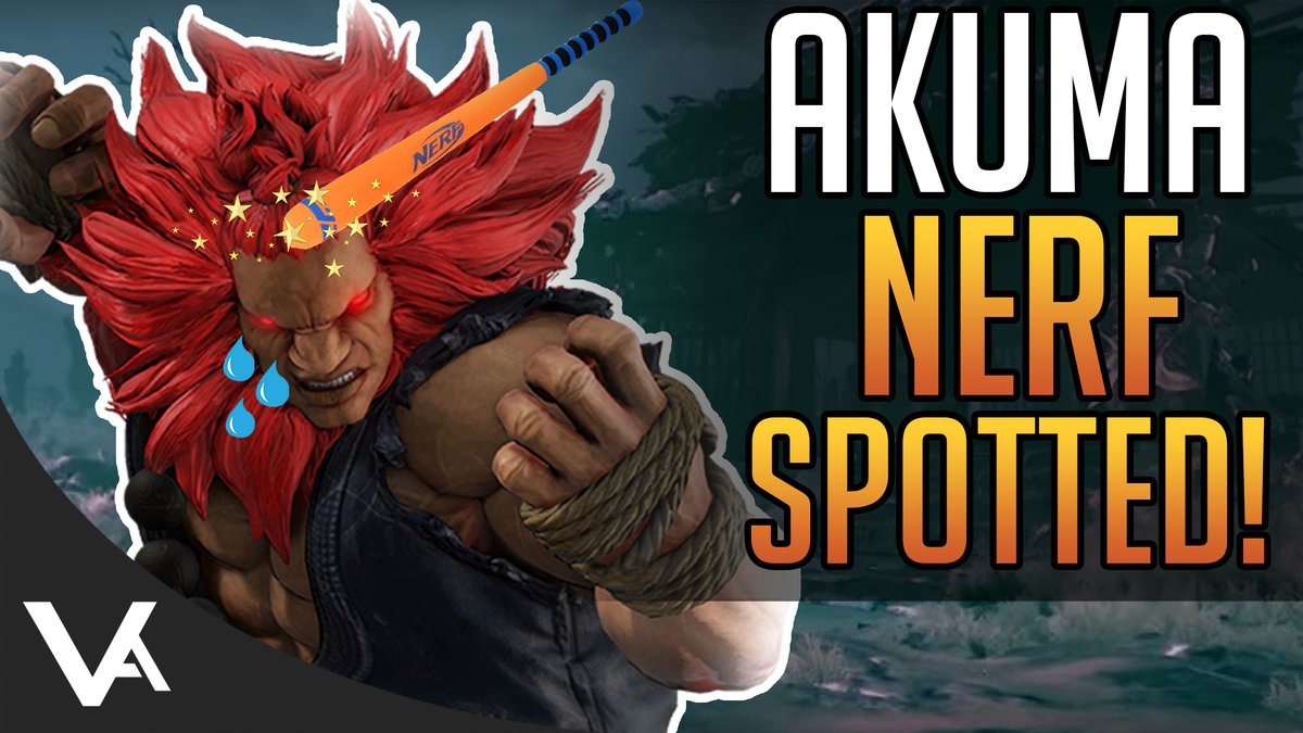 VesperArcade - Akuma Already Nerfed? Balance Change Spotted! New Garuda Costume Coming For Street Fighter 5