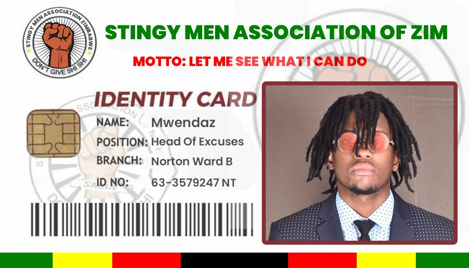 Thank you all for accepting me into the Stingy Men Association of Zim I promise I won't let you down https://t.co/qLankZ6S6s