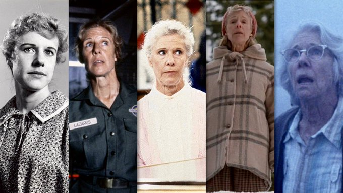Happy 91st Birthday to sparky star of stage and screen, Frances Sternhagen!