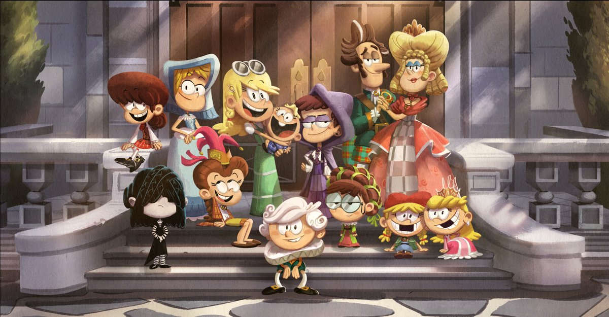 THE LOUD HOUSE MOVIE In Nickelodeon's The Loud House Movie, the biggest family on television goes on the biggest Loud family vacation ever! The adventure follows the Loud family to Scotland where they discover that they are descendants of Scottish royalty.