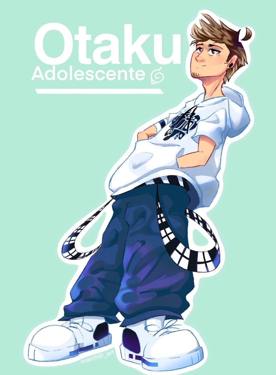 Rubius moderno con su look de otaku adolescente  #rubiusfanart