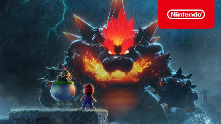 Oh no, Bowser has become gargantuan and lost all control! What will Mario do? Have a quick look at what new threats await in  #SuperMario3DWorld + #BowsersFury when it releases for #NintendoSwitch on 2/12!